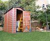 Plastový záhradný domček Palram Skylight 4x6 hnedý