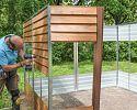 Plechový záhradný domček TINMAN - TIN707