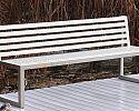 Oceľová lavička O1010