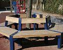 Šesťuholníková lavička K1027