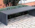 Oceľová lavička O1004