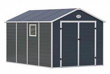 Plastový záhradný domček G21 PAH 882 - šedý