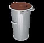 Kuka nádoba 110 l FEREX - 0,80 mm na separovaný zber BIO odpadu