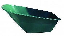 Plastová korba na fúrik Ferex 100 l - zelená