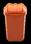 Plastový odpadkový kôš oranžový 15 l