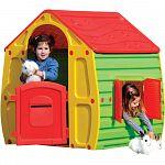 Detský domček Magical House red