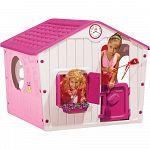Detský domček  VILLAGE HOUSE pink
