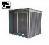 Plechový záhradný domček G21 GBAH 418- stary