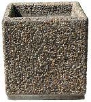 Kvetináč z vymývaného betónu štvorec 50