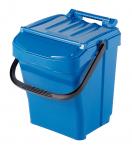 Odpadkový kôš URBA Plus 40 l - modrý