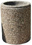 Kvetináč z vymývaného betónu kruhový 60