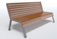 Dizajnová lavička K1115