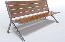 Dizajnová lavička K1126