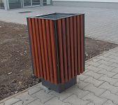 Odpadkový kôš V1020 - TEAK