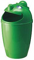 Odpadkový kôš s tvárou – zelený 75 l
