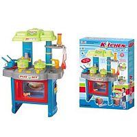 Hračka G21 Detská kuchynka DELICACY s príslušenstvom, modrá