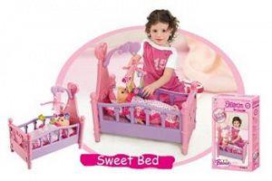 Hračka G21 Detská postieľka pre bábiky