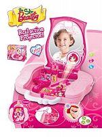 Hračka G21 Detský kozmetický kufrík s príslušenstvom s projekciou