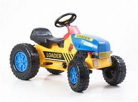 Hračka G21 Šliapací traktor Classic žlto / modrý
