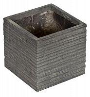 Kvetináč G21 Stone Cube 24 cm