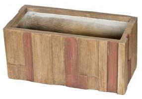 Kvetináč G21 Wood Box 59 cm
