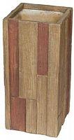 Kvetináč G21 Wood Tube 80 cm