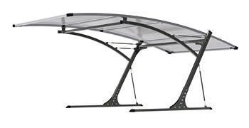 Prístrešok pre automobil G21 Carport black/grey