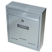 Schránka poštová RADIM malá 310 x 260 x 90 mm šedá