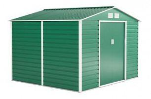 Plechový záhradný domček G21 GAH 706 - zelený