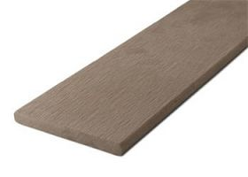 Zakončovacia lišta G21 Indický teak plochá 0,9 x 9 x 200 cm, mat. WPC