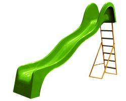 Šmýkačka V 316 vlnovková - zelená