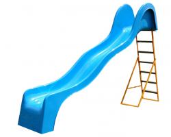 Šmýkačka V 316 vlnovková - modrá