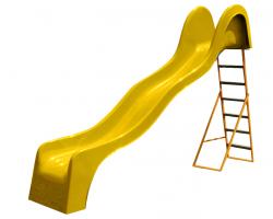 Šmýkačka V 316 vlnovková - žltá