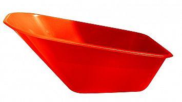 Plastová korba na fúrik Ferex 100 l - červená