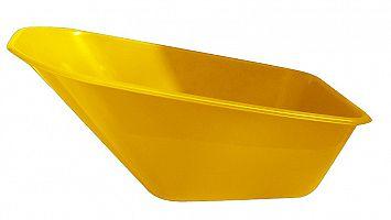 Plastová korba na fúrik Ferex 100 l - žltá