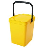 Odpadkový kôš URBA 21 l - žltý