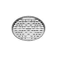 Hliníková tácka na grilovanie okrúhla - 3 ks