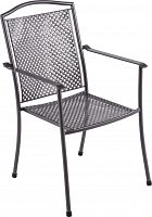 Stolička z ťahokovu Royal Garden Domino steel