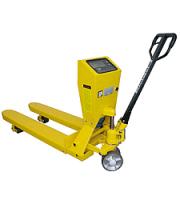 Paletový vozík s váhou a tlačiarňou