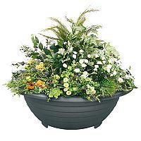 Oceľový vonkajší kvetináč ESFERICA