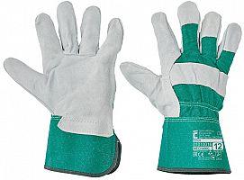 Pracovné rukavice EIDER- zelené