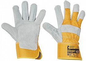 Pracovné rukavice EIDER- žlté
