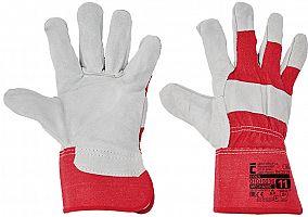 Pracovné rukavice EIDER- červené