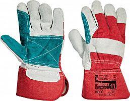 Pracovné rukavice MAGPIE- červené