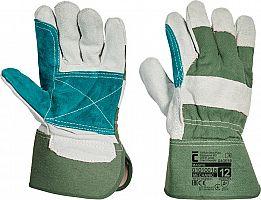 Pracovné rukavice MAGPIE- zelené