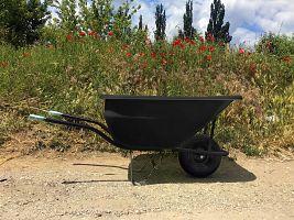 Hospodársky fúrik Ferex 180 l - nafukovacie koleso