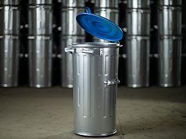 Kuka nádoba 110 l FEREX - 0,80 mm na separovaný zber papiera