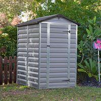Plastový záhradný domček Palram Skylight 4x6 šedý