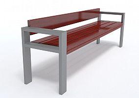 Dizajnová lavička K1122