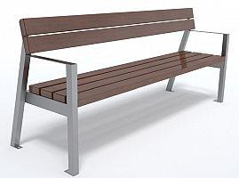 Dizajnová lavička K1121